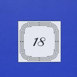 Číslo dveří DS18C