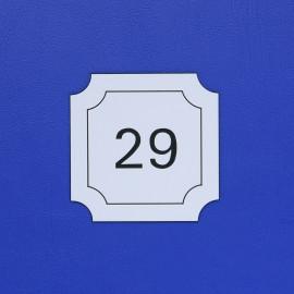 Číslo dveří DS08C