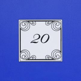 Číslo dveří DS16C