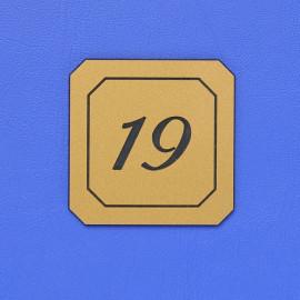 Číslo dveří DS06C