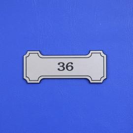 Číslo dveří DS04C