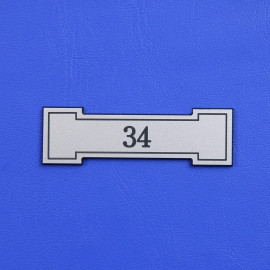 Číslo dveří DS05C