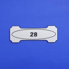 Číslo dveří DS03C