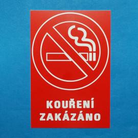 Kouření zakázano