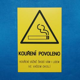 Kouření povoleno