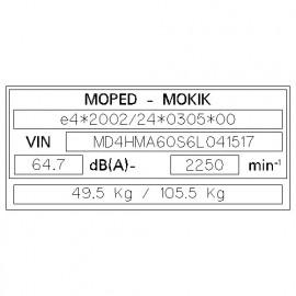 MOPED - MOKIK