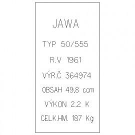 Jawa 50/555 Pionýr