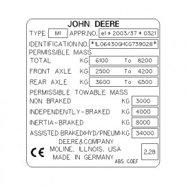 John Deere M1