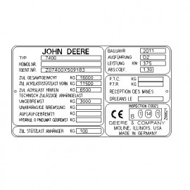 John Deere 7400