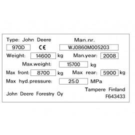 John Deere 970D