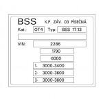 BSS 17.13 3 nápravy