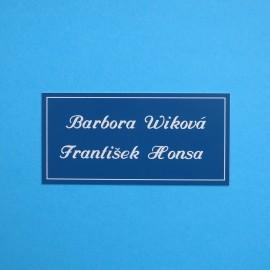 Dveřní štítek DS34