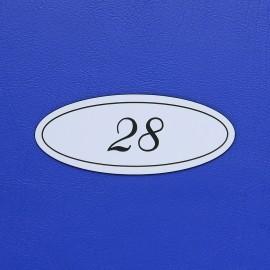Číslo dveří DS01C