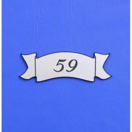 Číslo dveří DS11C
