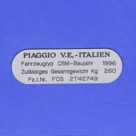Paggio V.E, - Italien