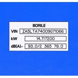 Borile - čtyřkolka
