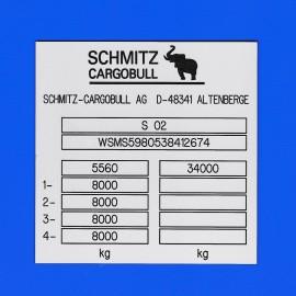 Schmitz cargobull S 02